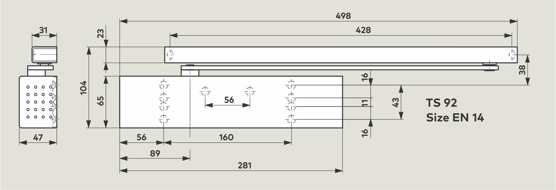 ts-92-dorma-samozapiralo-z-drsnikom